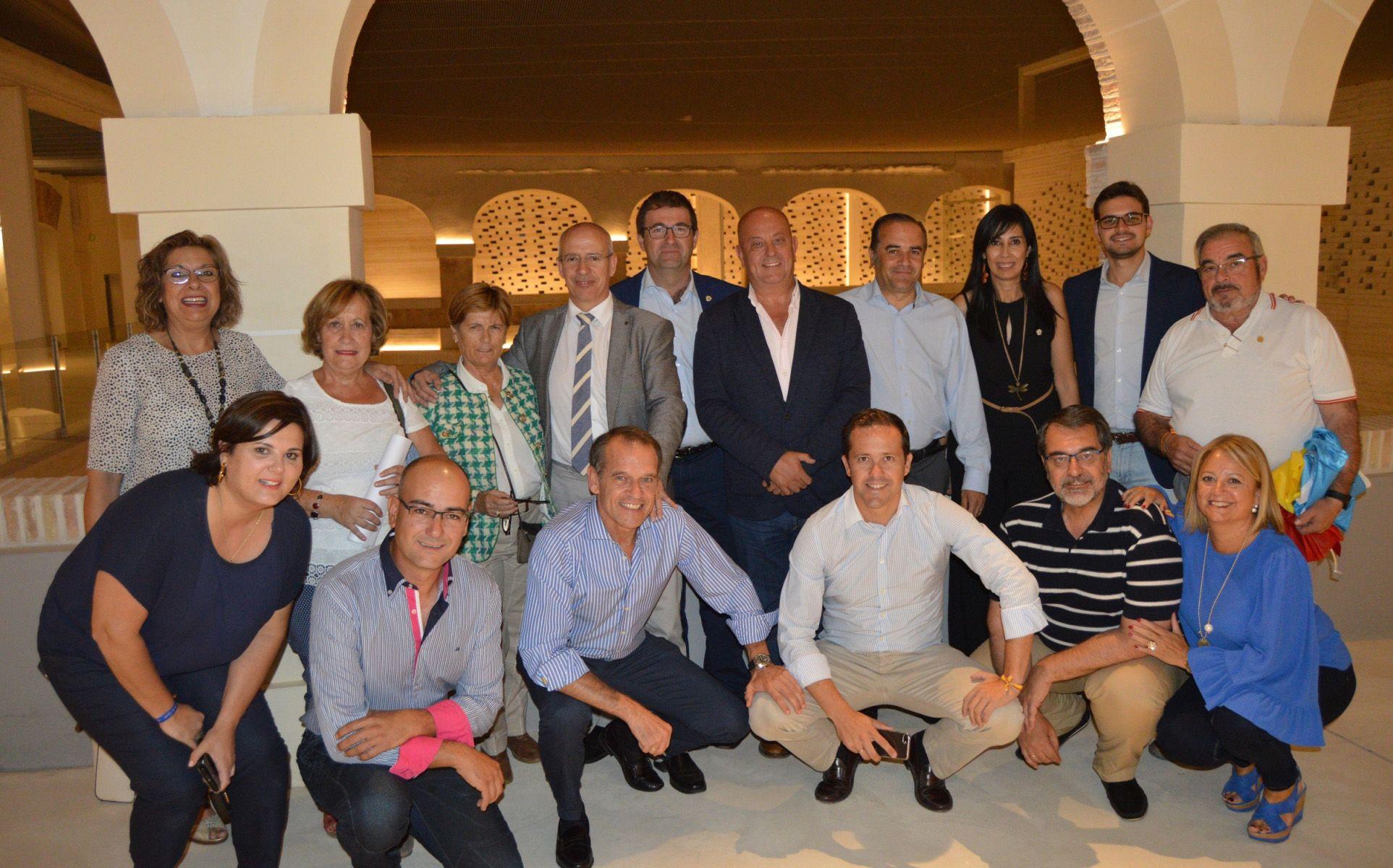 Gregorio destaca la unidad del PP en la defensa de la Democracia, la Libertad y la unidad de España