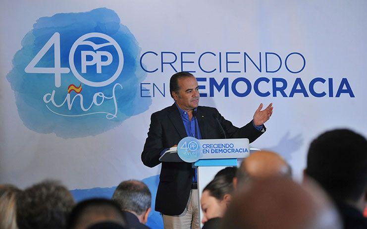 """Gregorio asegura que """"el PP es y va a seguir siendo el garante de la Democracia y la Constitución en España"""""""