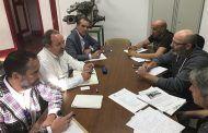 Labrador se reúne con los representantes de los Bomberos