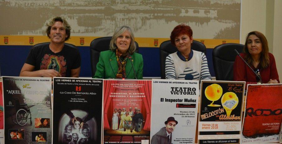 La programación teatral 'Los Viernes se Aficionan al Teatro' contará con 17 grupos locales y más de 3.000 espectadores