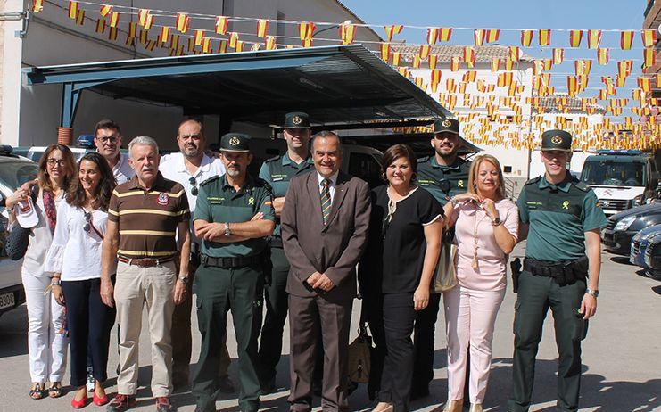 Gregorio visita cuarteles de las cinco provincias de la región para expresar el apoyo del Gobierno de España a la Guardia Civil en la fiesta de su patrona