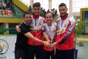 Álex Vidal, Aythami Santana y Gabriel Amado, a por las medallas en el mundial de Taekwondo Paralímpico de Londres