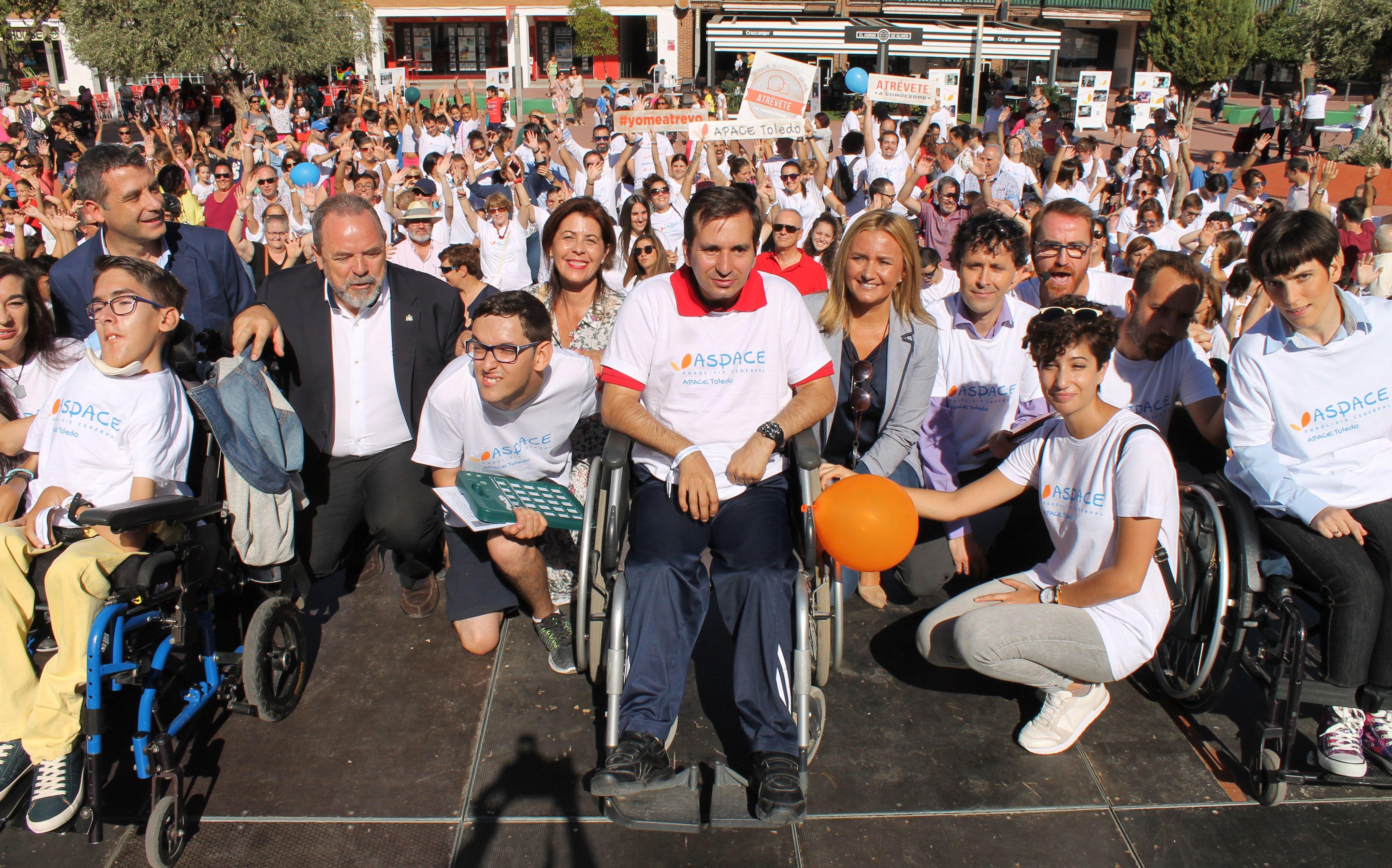 APACE TOLEDO invita a la ciudadanía a conocer y acercarse a las personas con parálisis cerebral