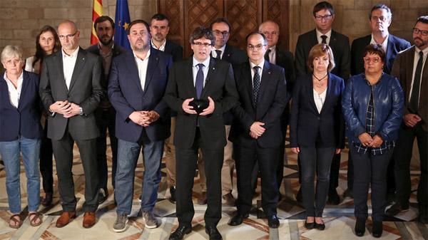 Puigdemont exige desde Bruselas
