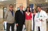 La Fundación CCM, de la mano de José María San Román, cede a AECC-Toledo una nueva sede en la ciudad