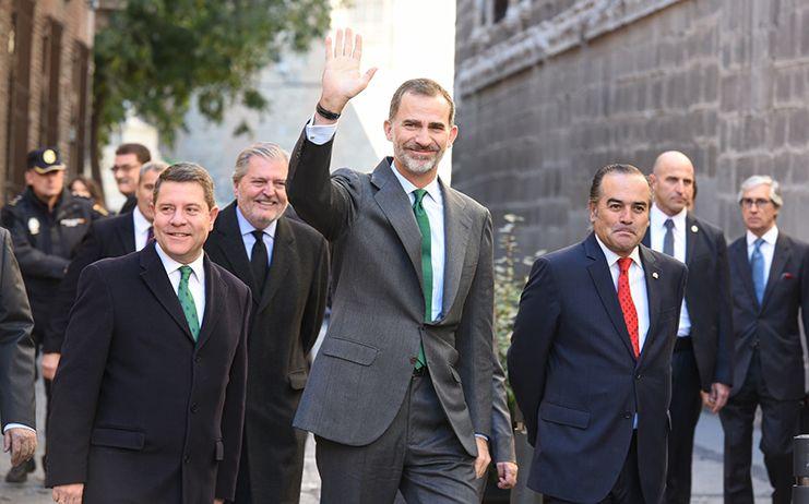 El Rey Felipe abandona Toledo como Canónigo Honorario de la Catedral Primada y