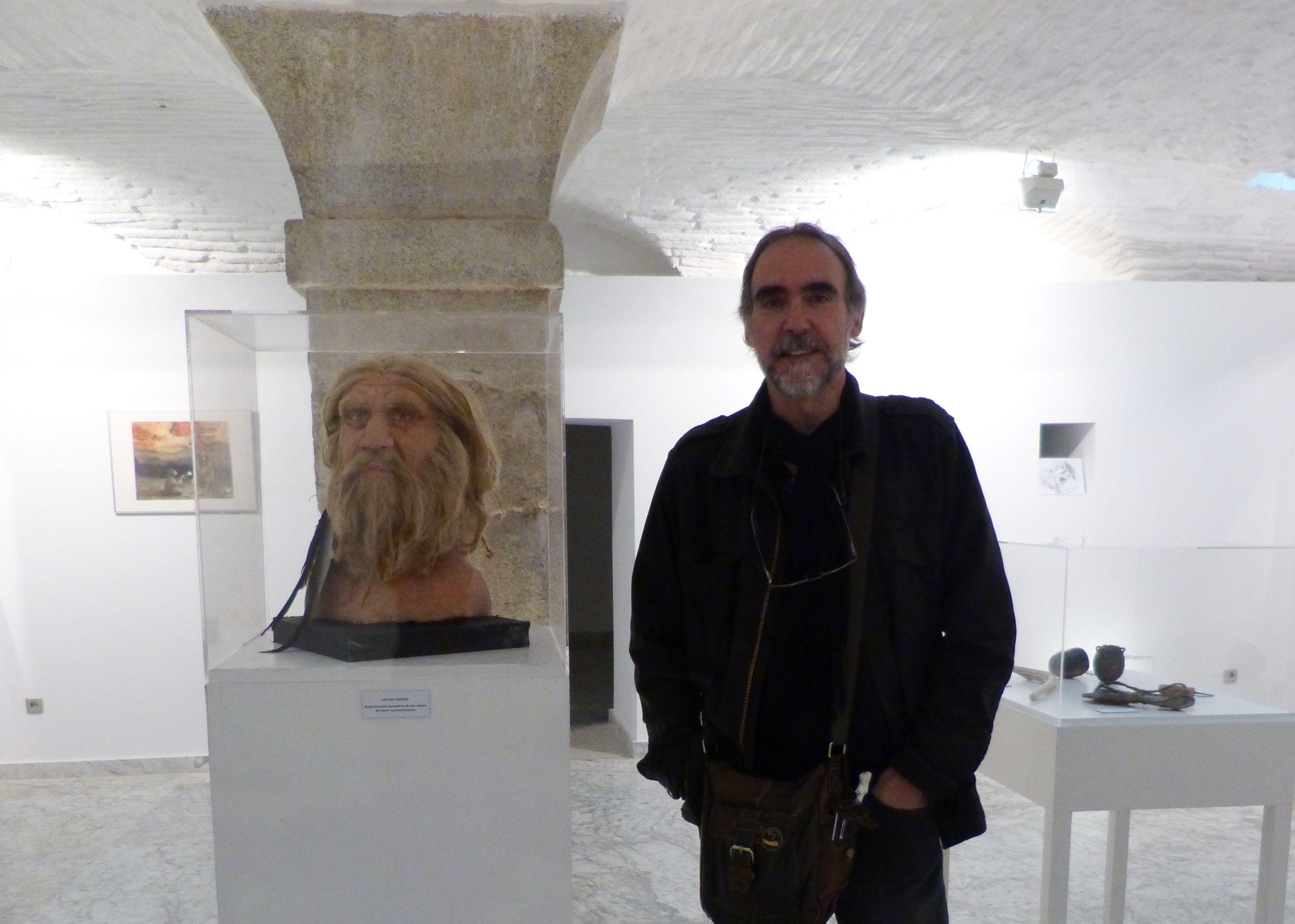 El artista plástico Arturo Asensio expone desde mañana en San Clemente