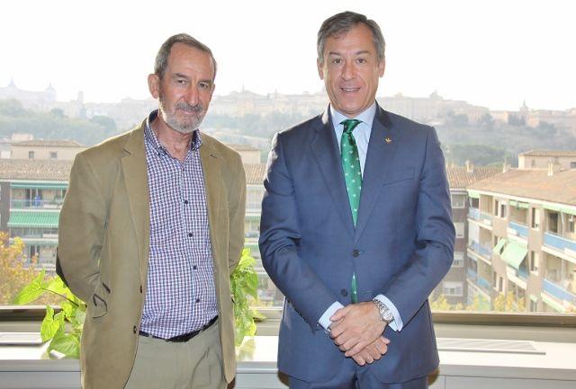 Caja Rural CLM recibe la visita del vicepresidente de Marsodeto