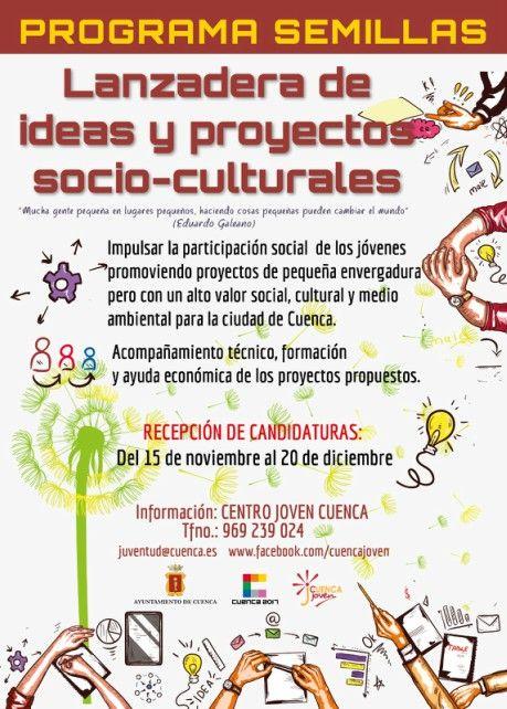 El Servicio de Juventud pone en marcha el primer Programa Semillas-Lanzadera de Proyectos Sociales y Culturales