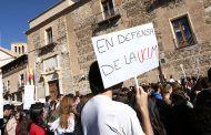 Unos 2.600 estudiantes se manifiestan en cuatro campus de C-LM pidiendo más diálogo y mejor financiación para la UCLM