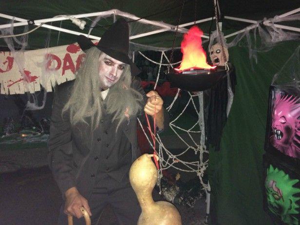 Diversión y terror en la 'Noche de Brujas' organizada por la Diputación de Guadalajara