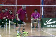 Simón Cruz y Esther Torres representan a España en el Campeonato del Mundo de Bádminton Paralímpico de Corea