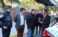 Manuel Serrano asegura que con los 8 nuevos vehículos patrulla incorporados a la Policía Local