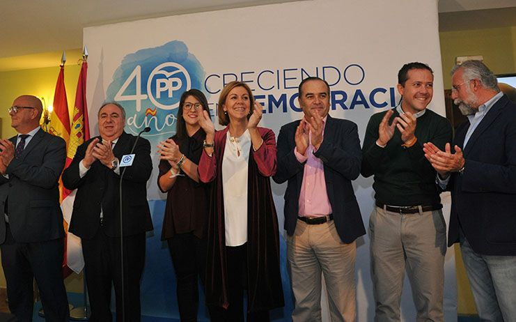 Gregorio destaca la unidad del PP para conseguir lo mejor para Toledo, Castilla-La Mancha y España