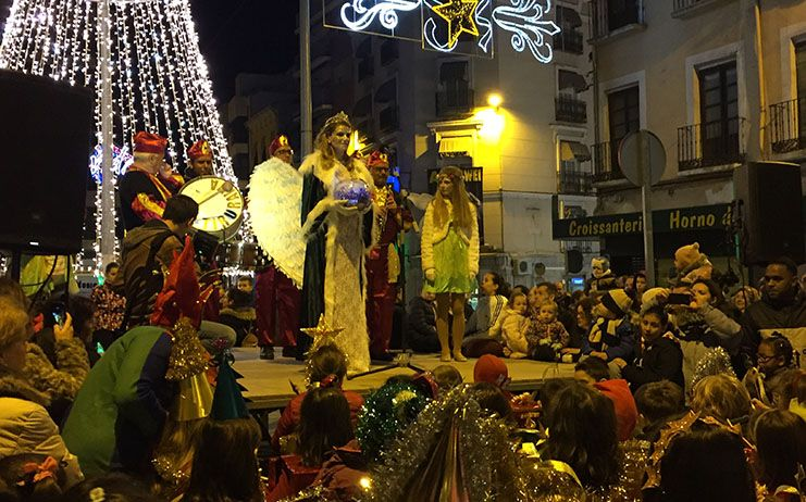 La iluminación navideña de Cuenca se inaugura mañana en la Plaza de la Constitución de la mano de la Dama de la Navidad
