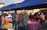 El vicepresidente tercero de la Diputación de Guadalajara asiste a la tradicional Fiesta de la Matanza de Henche