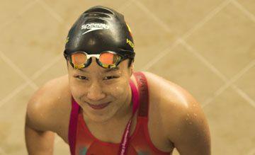 Isabel Hernández gana el bronce en los 200 estilos durante el mundial de natación paralímpico de México