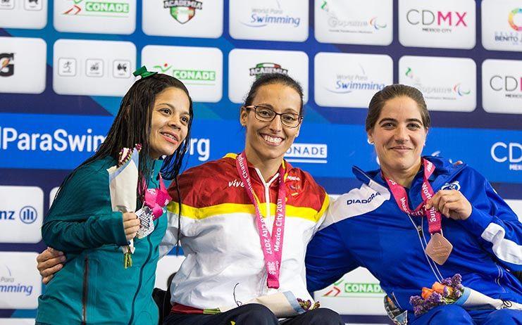 Oros de Teresa Perales y Óscar Salguero además de diez medallas para el equipo paralímpico español en el mundial de natación de México