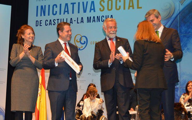 Ramos ha asistido a la entrega de los reconocimientos a la iniciativa social