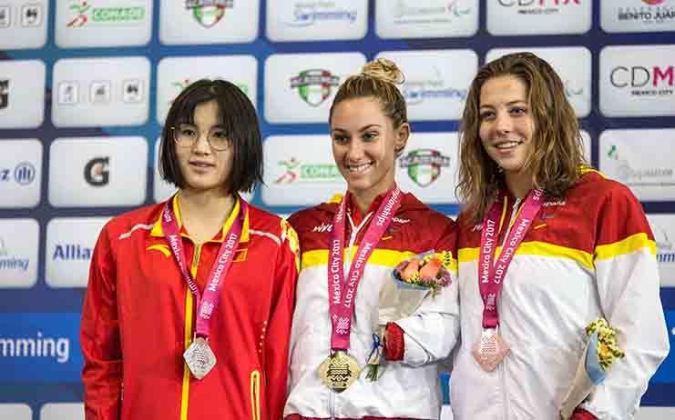 España llega a las 40 medallas en el mundial de natación paralímpica gracias a los oros de Nuria Marqués y Sarai Gascón
