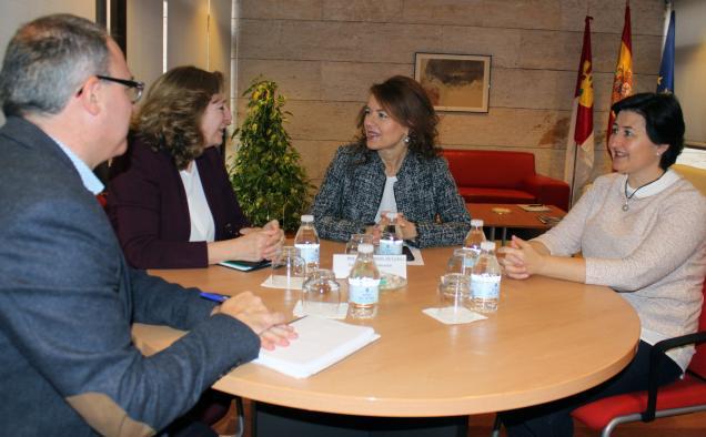 El Gobierno de Castilla-La Mancha valora el funcionamiento del Servicio de Atención Temprana de APANAS, puesto en marcha en 2016