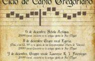 Tres conciertos y una misa componen la programación de la  XI edición del Ciclo de Canto Gregoriano de Cuenca