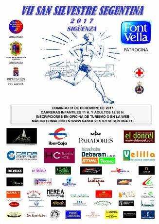 La ciudad del Doncel despedirá deportivamente el año con la VII Edición de la San Silvestre seguntina