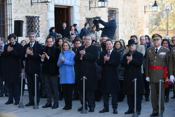 """El presidente García-Page defiende una reforma constitucional que ahonde en un blindaje """"más real"""" de los derechos sociales"""