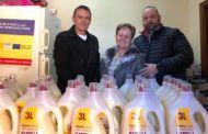 Cáritas de Alovera recibe el respaldo de los vecinos a través de la campaña 'Populares Solidarios'