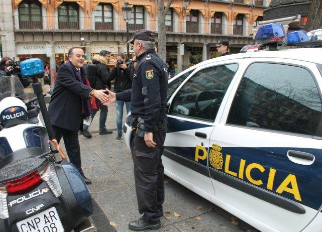Gregorio anuncia el refuerzo de la presencia policial en la calle para prevenir delitos en comercios durante la Navidad