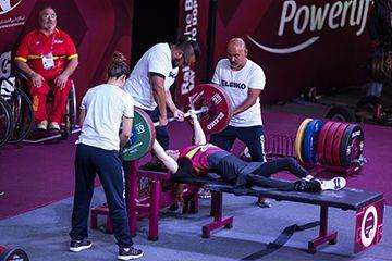 Loida Zabala termina sexta en el Campeonato del mundo de harterofilia paralímpica