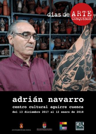 Una exposición en el Centro Cultural Aguirre acercará la cerámica de Adrián Navarro a los conquenses