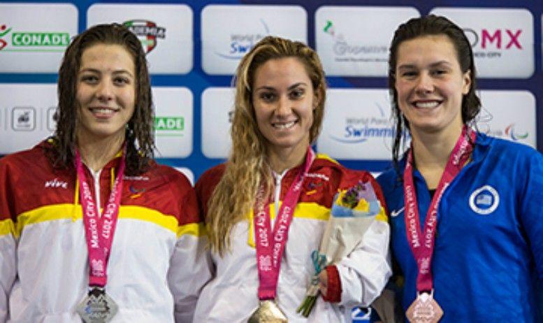 Nueve Medallas más para España en el Mundial de Natación Paralímpica, con dos Oros de Nuria Marqués y Sarai Gascón