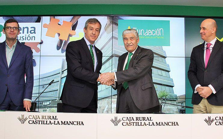 Fundación Caja Rural Castilla-La Mancha y Plena Inclusión formarán en finanzas a personas con discapacidad