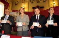 Serrano agradece la proyección nacional que el sello de Correos conmemorativo del Centenario de la Plaza de Toros dará a Albacete