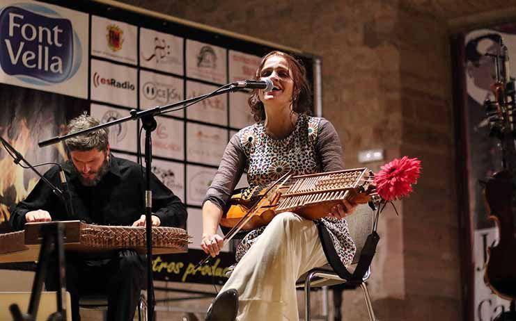 La 'Luna Sefardita' de Ana Alcaide ilumina el inicio del Segontia Folk