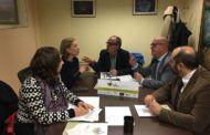 El Viceconsejero de Medio Ambiente de la Junta de Castilla-La Mancha, recibe a los socios del proyecto Life+Regrow
