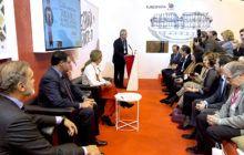 El stand de Castilla-La Mancha en FITUR acoge un destacado número de contactos de agencias de viajes y turoperadores extranjeros