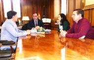 Prieto comparte las inquietudes de UPA sobre la situación del campo y el problema de la despoblación en la provincia