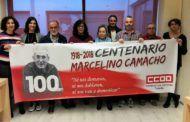 CCOO-Toledo reivindica la figura de Marcelino Camacho en el centenario de su nacimiento