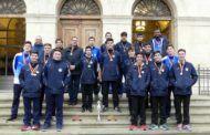 Prieto felicita al CV Hervás Cuenca por proclamarse campeón de la Copa de España de Voleibol cadete masculino