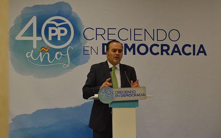 Gregorio destaca la unidad del PP de Talavera de la Reina y reitera el apoyo del partido provincial a la ciudad