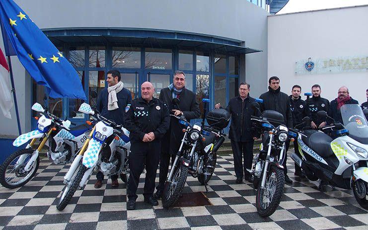 La Policía Local de Cuenca renueva su flota con 6 motos
