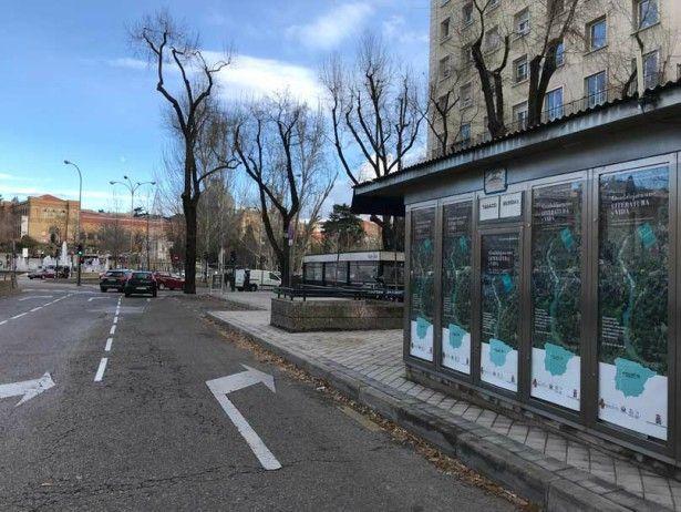 La Diputación de Guadalajara promociona el Geoparque de Molina – Alto Tajo en las calles e intercambiadores de Madrid