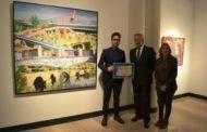 Ramos destaca la excelencia de las obras presentadas al XXXVI Premio Nacional de Pintura 'Enrique Ginestal'