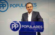 Martín-Toledano lamenta que Page exija la aprobación de los PGE al tiempo que el PSOE los bloquea