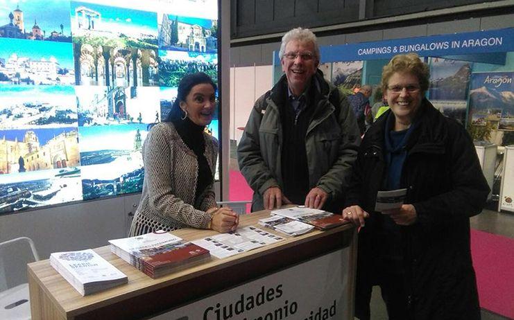 Cuenca y las Ciudades Patrimonio de la Humanidad de España, en la Feria del Turismo, Vakantiebeurs de Utrech