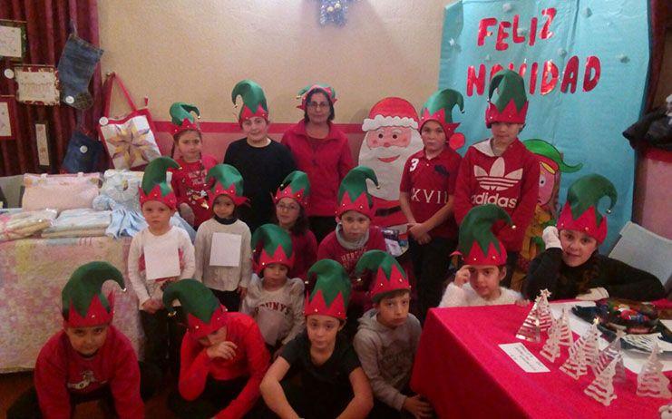 El programa de Navidad ha prestado especial atención a niños y mayores en Almonacid de Zorita