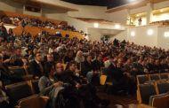 Gómez Buendía da la bienvenida a los participantes en la II Gala de la Federación Nacional del Toro de Cuerda
