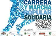 Carrera solidaria por África en el Paseo de la Vega de Toledo